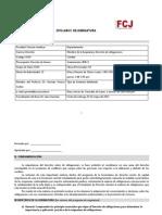Syllabus Oficial de Obligaciones 2013