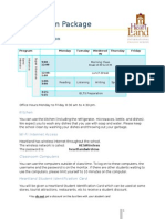 Orientation Package 2013