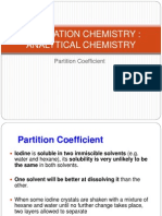 Partition Coefficient Edited
