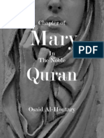 Chapter of Mary in the Noble Quran