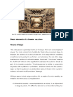 03. Basic Elements of a Theatre Structure