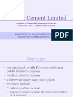Presentation on Pioneer Cement (Business Recorder)