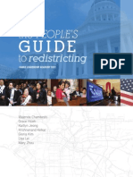 """""""The People's Guide to Redistricting"""" (CAUSE Leadership Academy 2012 Group Project)"""