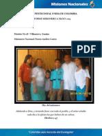 Informe Misionero a Mayo 2013 - Villanueva, Guajira - Distrito 18