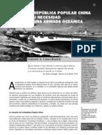 China y su necesidad de una Armada oceánica