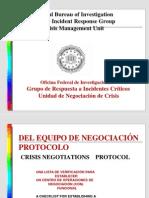 (6) Protocolo Del Equipo de Negociacion