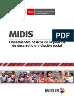 Plan Social MIDIS