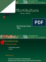 Hortikultura A