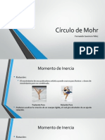 Esfuerzo Plano y Circulo de Mohr 2d
