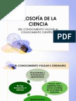 FILOSOFÍA DE LA CIENCIA[1][1]