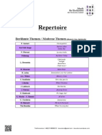 Repertoire - Duo Unison