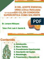 Presentacion Tesis 2, Extraccion Mandarina