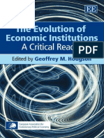 Hodgson 2007 - The Evolution of Economic Institutions