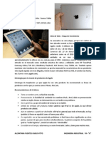 Producto Apple iPad