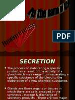 Physiology of Secretion