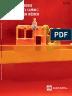 Consecuencias Sociales Del Cambio Climatio en Mexico