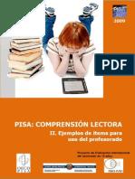 PISA 2009 - Comprensión Lectora
