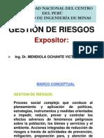 EXPOSICIÓN FACULTAD MINAS GESTIÓN DE RIESGOS
