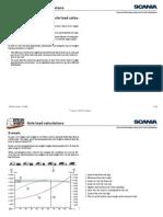 SCANIA Axle Load Calculation