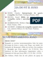 EVANGELHO DE JOÃO livro sinais