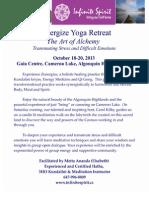 2013 October Zenergize Retreat, Gaia Farmhouse, Oct 18-20th