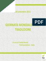 Giornata Della Traduzione 2013
