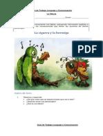 Guía de Trabajo Lenguaje y Comunicación causa y efcto