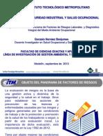 Competencia Tres S&SO Panorama Factores de Riesgos Laborales GoNaBe 2013