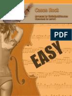 ViolinRockStar CanonRockSheetMusic Easy 1page