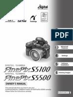 FinePix S5500 uputstvo eng