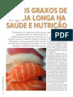 ÁC GRAXOS CADEIA LONGA NA SAÚDE E NUTRIÇÃO