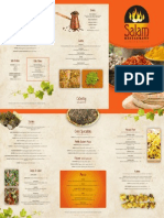 Salam Restaurant Menu