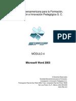 Material de Apoyo - Módulo 4 Microsoft Word Core Specialist
