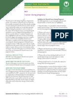 Thyroid and Pregnancy