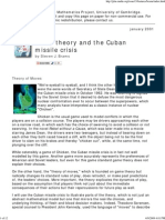 Game Theory and the Cuban m..