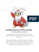 pokemon soul silver all items code