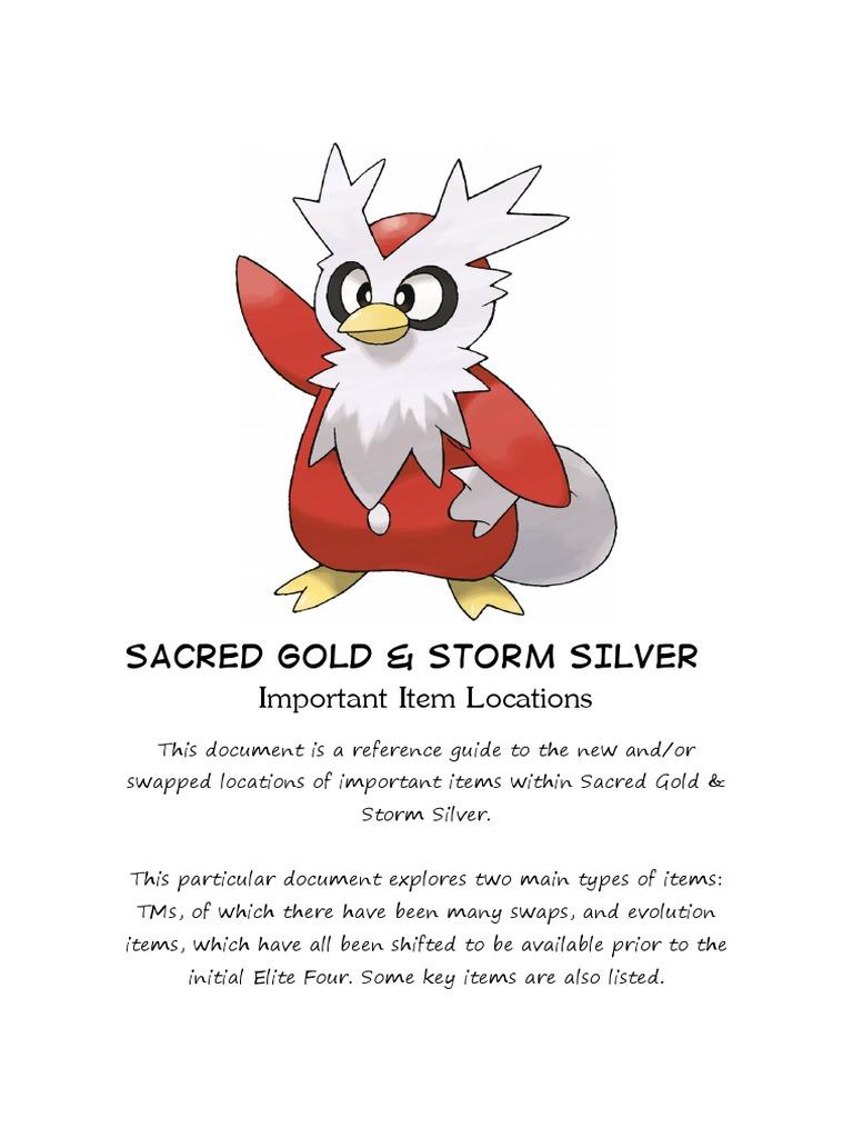 pokemon storm silver covenant orb