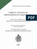 Moneo Rafael Sobre El Concepto de Arbitrariedad en Arq