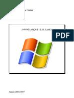 livret debuter en informatique