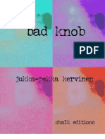 Jukka-Pekka Kervinen - Bad Knob