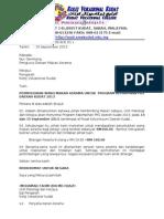 Surat Permohonan Peruntukan Makan Asrama Surat Pelancongan PUSPEN