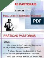Vida Pastoral Ética Livros e Relatórios