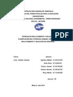 Trabajo de Unidad I y II Tecnicas de Reclutamiento y Seleccion Listo Para Imprimir.