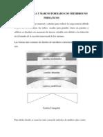 Análisis de viga y marcos formado con miembros no primaticos