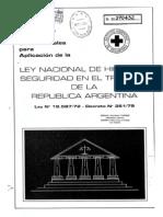 Ley 19587-72 Decreto 351-79 Comentada
