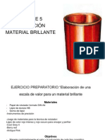 SIMULACIÓN DE MATERIAL BRILLANTE