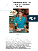 Daisy Cooks sabores latinos That Will Rock Your World por Daisy Martínez - 5 estrellas revisión