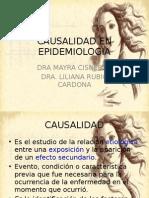 Causality en Epidemiologia