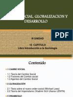 Cambio Social, Globalizacion y Desarrollo