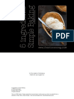 5 Ingredients Simple Baking
